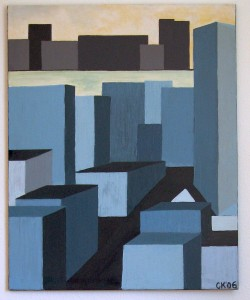 Hudson 1, Oil on Canvas 2006