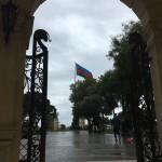 You see Azerbaijani flag quite a lot in Baku