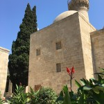 The little garden of the Palace Mosque is both quite lush and tranquil
