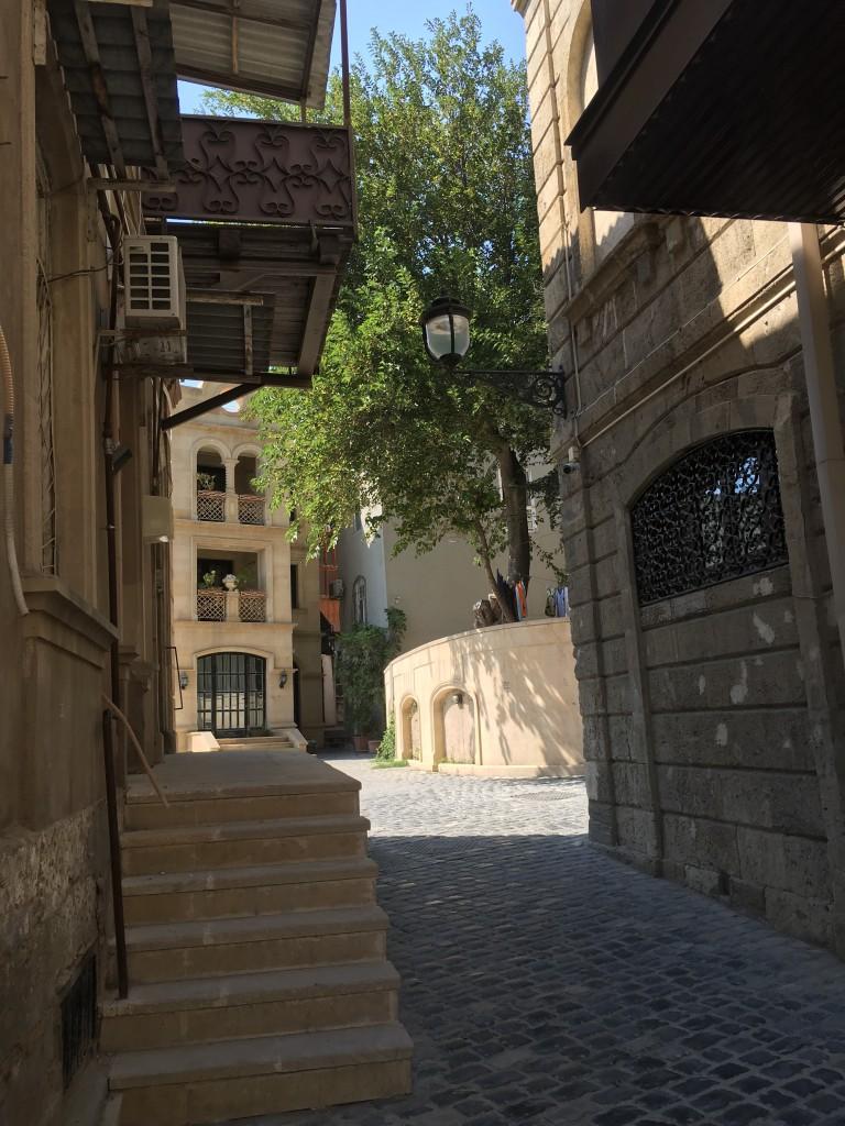 Old Town or Inner City in Baku
