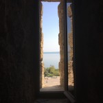 View of the Caspian Sea from the Maiden Tower