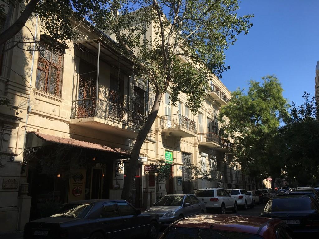 Baku is full of tree lined street