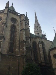 Backside of the cathedral