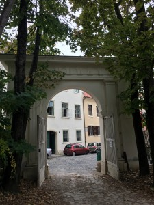 Entrance Gate in Upper Town