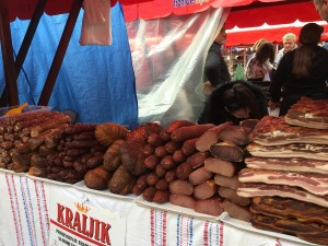 The sausages and dried meats were amazing