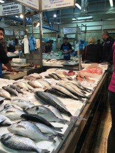 Fish market - Zagreb is about 2 hours drive from the sea